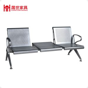 Public Metal Steel 3-Seater Cheap Waiting Room Chairs for Patient pictures & photos