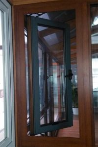 . Australia Aluminum Profile Thermal Break Swing Window pictures & photos
