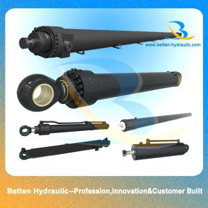 Double Acting Mini Excavator Hydraulic Cylinder pictures & photos