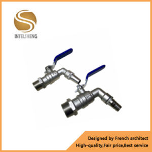 Bibcock Valve with Chrome Plated Level Handle pictures & photos