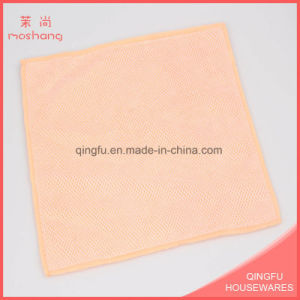 Microfiber and Mesh Towel Car Cleaning Towel pictures & photos
