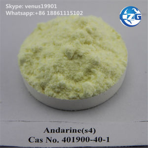 Selective Androgen Receptor Modulator Sarms/Andarine (S4) pictures & photos