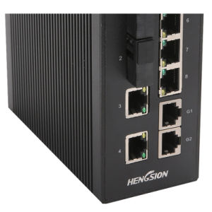 10 Ports Industrial Ethernet Network Switch Gigabit Switch pictures & photos
