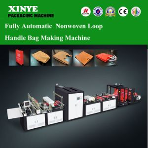 Fully Auto Nonwoven Loop Handle Bag Making Machinery pictures & photos