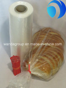 Clear PE Plastic Wholesale Grocery Food Packing Bag pictures & photos