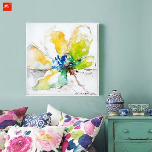 Poster Flower Wall Picture Floral Canvas Oil Painting pictures & photos