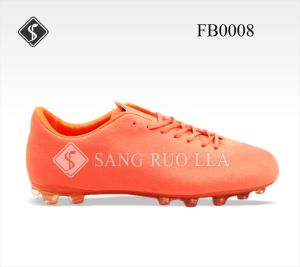 Top Quality Outdoor Sport Football Shoes pictures & photos