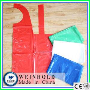 High Quality Disposable Chemical Resistant PE Apron pictures & photos