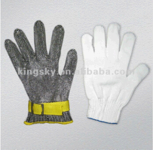 Stainless Steel Metal Mesh Cut Resistant Glove (2350) pictures & photos