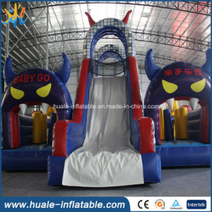Inflatable Castles Combo, Big Inflatable Bouncers, Kids Inflatable Playlands for Sales