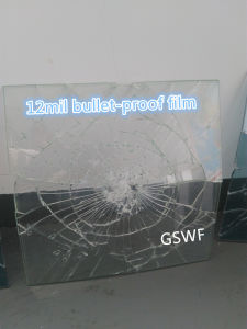 High Quality 12mil Bullet-Proof Safety and Security Window Film pictures & photos