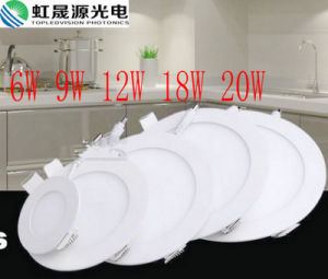 6W 9W 12W 18W 20W Round LED Panel Light pictures & photos