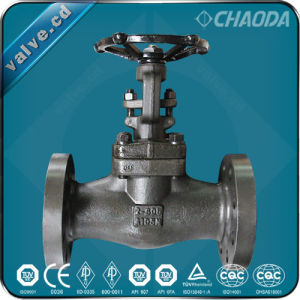 API602 Forged Steel Solid Wedge Gate Valve pictures & photos