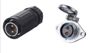 Ya-20 Waterproof Power Connector with 2pins pictures & photos