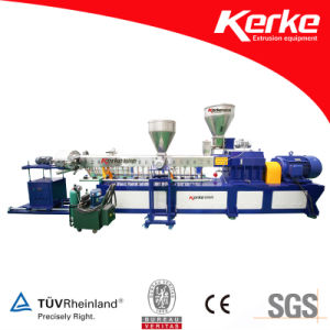 TPR TPU TPE Twin Screw Compounding Extruder Line pictures & photos