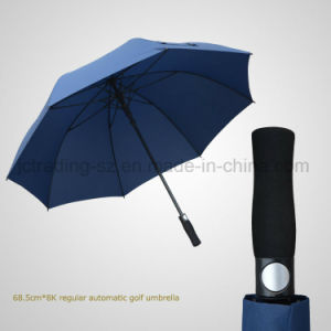 Straight Automatic Open Umbrella EVA Handle Golf Sun/Rain Umbrella (JL-AGF102) pictures & photos