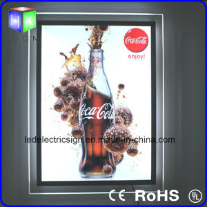 Double Side Crystal Slim Light Box LED Display pictures & photos