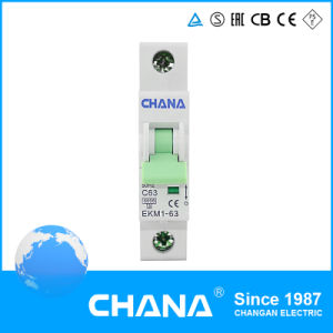 Ekm1-63 6ka/10ka Type Circuit Breaker with Ce and CB Certificates pictures & photos