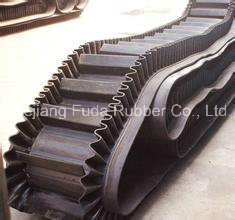 Cheap Wholesale Raised Edge Rubber Sidewall Conveyor Belt and Steep Belt Conveyor pictures & photos