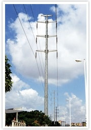 Customed Angle Steel Transmission Tower pictures & photos