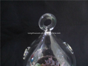 Christmas Decoration Calabash Glass Vase pictures & photos