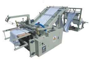 Full Automatic PP Woven Bag Sack Cutting Machine pictures & photos
