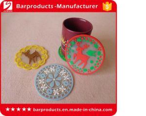 Custom 2D Soft PVC Coaster in Cheap Price