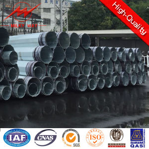 220kv Transmission Galvanized Steel Power Pole pictures & photos