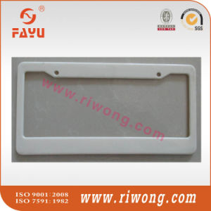 USA Size Plastic Car Number Plate Frame pictures & photos