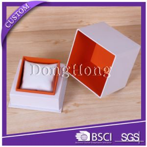 Hinged Lid Cardboard Paper Wholesale Watch Packaging Box for Men pictures & photos