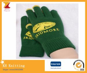 Print Logo Winter Warm Gloves pictures & photos