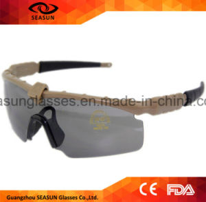 Military Goggles 3 or 5 Lenses Revo Army Sunglasses Tactical Glasses Eyeshield for War Game Airsoft Shooting pictures & photos