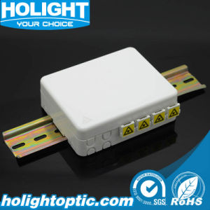4 Ports FTTX DIN Face Plate pictures & photos