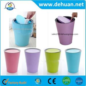 Grade One Plastic Trash Can Bin/ Kitchen Trash Can pictures & photos
