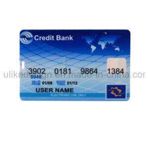Big Logo Promotion/Bulk Card Tyep USB Flash Disk/ Flash Drive (UL-P003) pictures & photos
