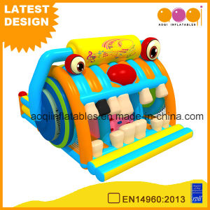 Funny Cheap Radio Inflatable Playground Combo for Sale (AQ01737) pictures & photos