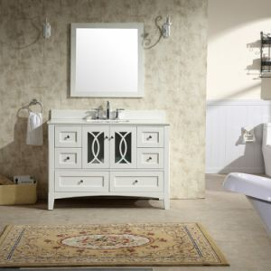 48′′ Floor Mounted Bathroom Vanity with Single Basin pictures & photos