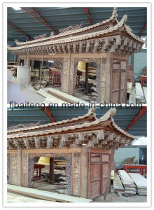 Chinese Style Wood Construction Decoration pictures & photos