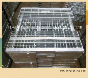 Hot DIP Galvanizing Steel Stair Tread with Nosing pictures & photos