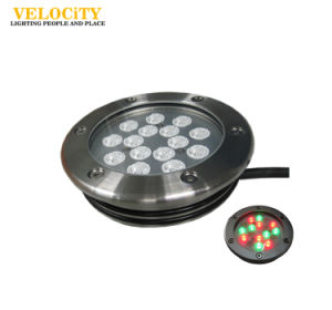 15PCS Colorful Decoration RGB IP68 Underwater LED Fountain Landscape Light