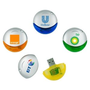 Round Shape USB Flash 1/2/4/8/16GB Wholesale pictures & photos