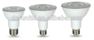 New Style Plastic with Aluminum Insde SMD2835 E26 E27 B22 IP65 7W PAR20 LED Light Bulb pictures & photos