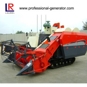 Rice Wheat Grain Full Feed Harvester pictures & photos