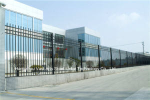 Haohan Basic Shape Classic Industrial Residential Galvanized Steel Fence 47 pictures & photos