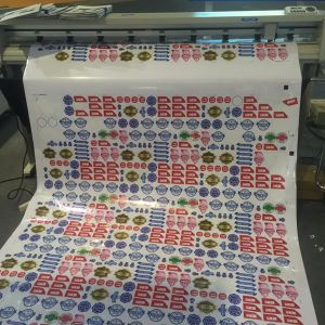 Sticker Vinyl Arms Label Paper Cutting Plotter pictures & photos