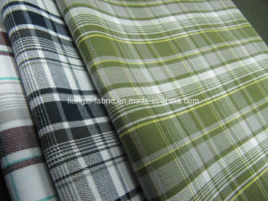 CVC Yarn Dyed Twill Checks Fabric for Shirt pictures & photos