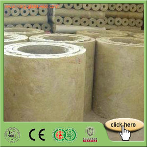 Mineral Wool Rock Wool Pipe pictures & photos