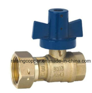 Brass Ball Valve with Alumimium Handle pictures & photos