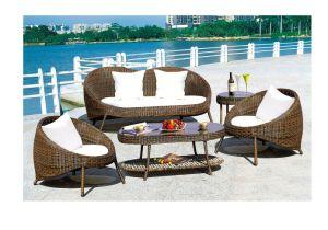 Outdoor Furniture PE Rattan Aluminum Frame Furniture