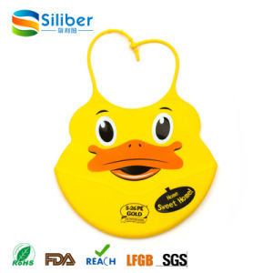 Wholesale Custom Food Grade Silicon Baby Bibs for Kids pictures & photos